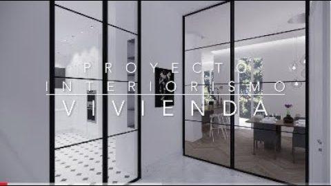 Proyecto de Interiorismo de Vivienda en Paseo Reding, Málaga