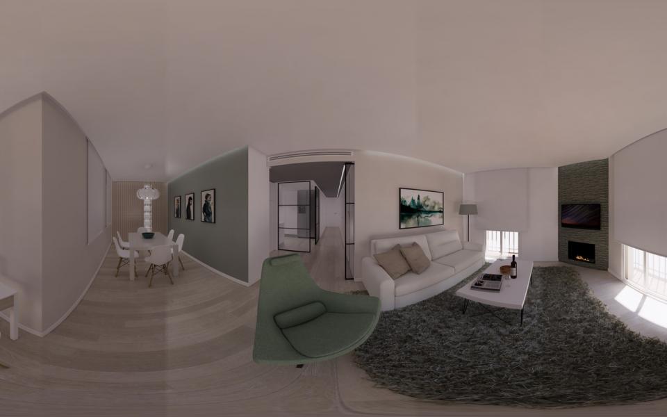 Tour virtual de vivienda en calle Gerona - Malaga