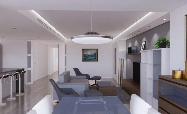 Proyecto de reforma, mobiliario y decoracion de vivienda en Malaga – 0