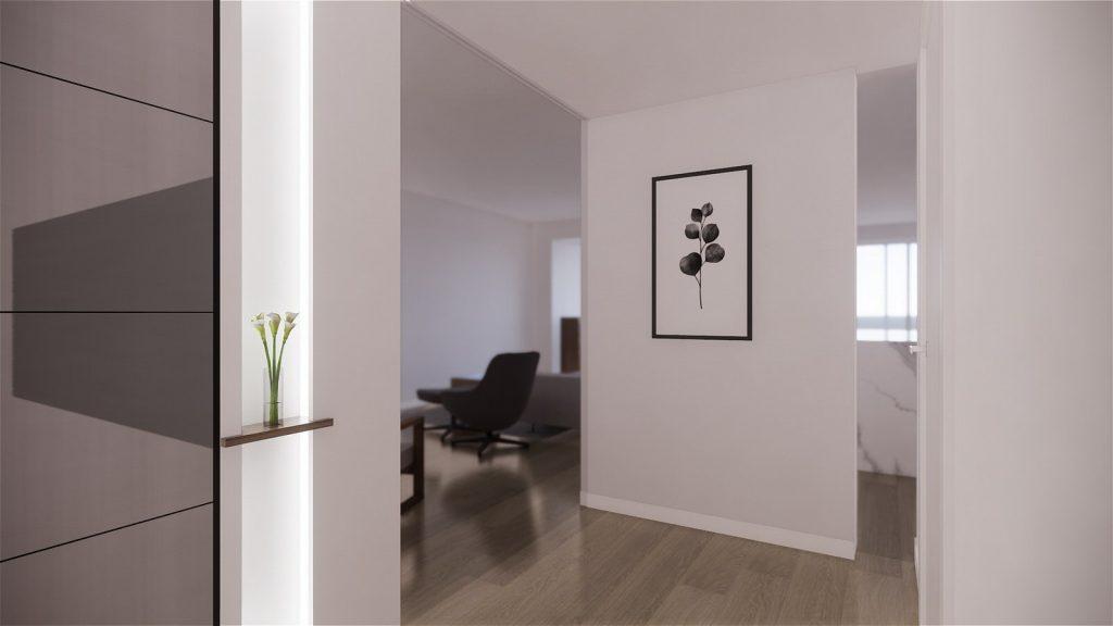 Proyecto de reforma, mobiliario y decoracion de vivienda en Malaga – 2