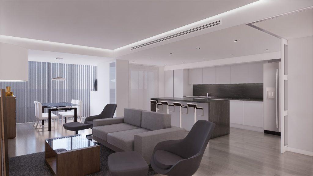Proyecto de reforma, mobiliario y decoracion de vivienda en Malaga – 4