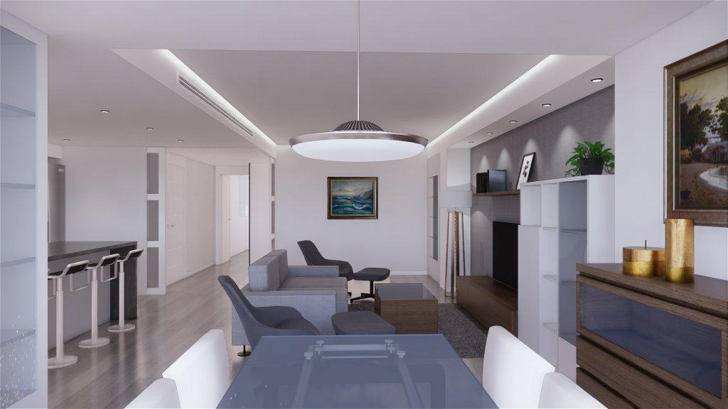 Proyecto de reforma, mobiliario y decoracion de vivienda en Malaga – 5