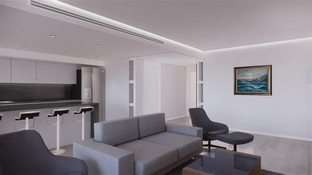 Proyecto de reforma, mobiliario y decoracion de vivienda en Malaga – 6