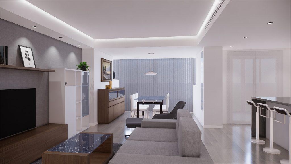 Proyecto de reforma, mobiliario y decoracion de vivienda en Malaga – 7