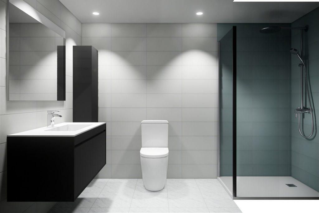 Proyecto reforma baños en Torremolinos Málaga 1