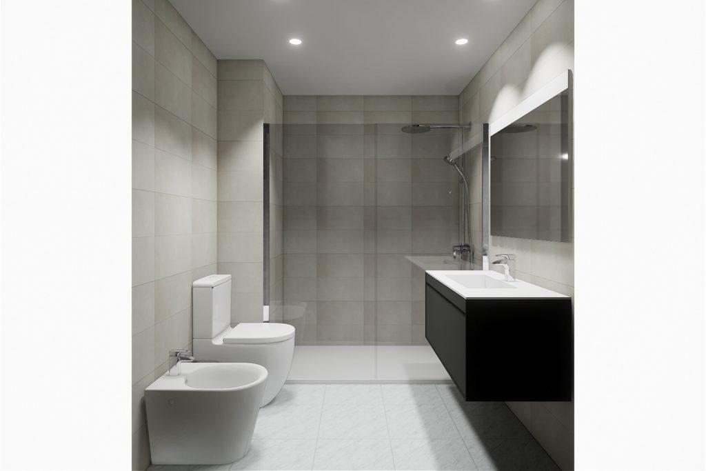 Proyecto reforma baños en Torremolinos Málaga 3