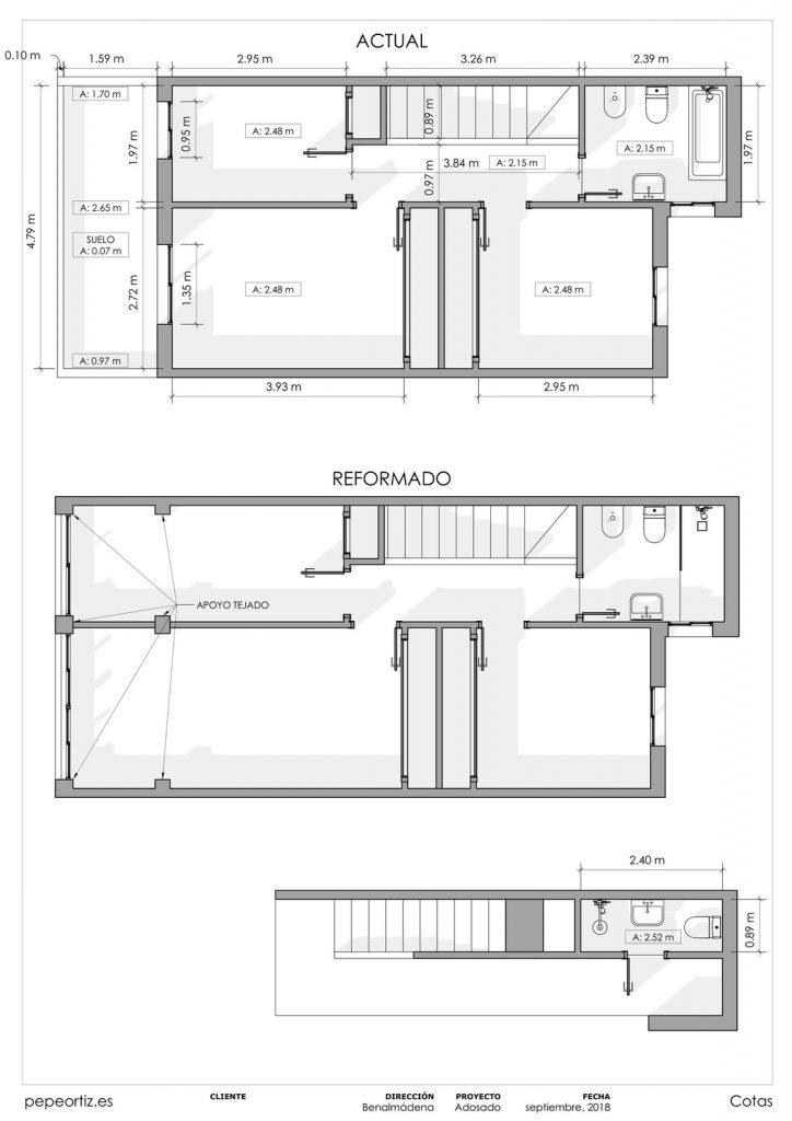 Proyecto reforma vivienda adosado Benalmadena Malaga - 4