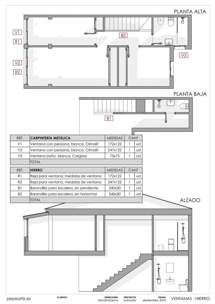 Proyecto reforma vivienda adosado Benalmadena Malaga - 9