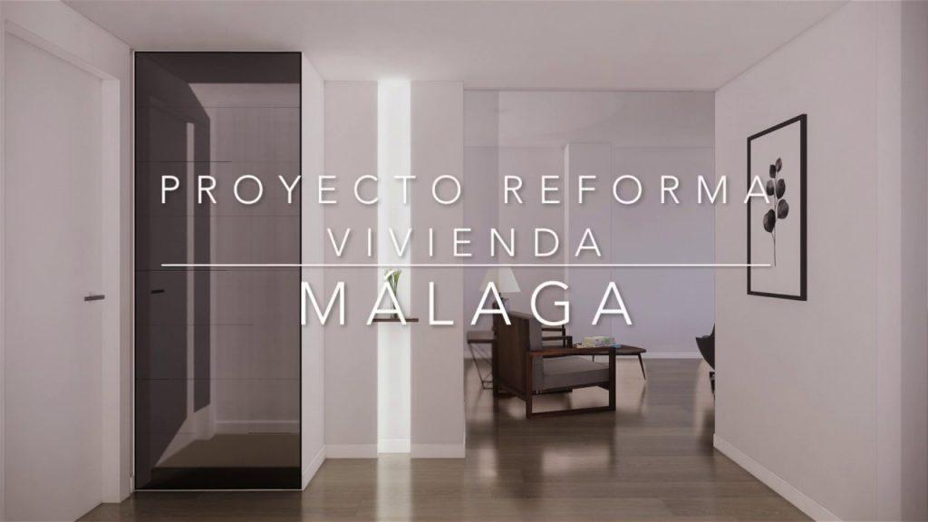 Proyecto de reforma, mobiliario y decoración de vivienda en Málaga