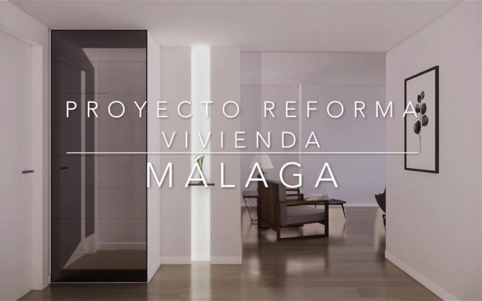 Proyecto de reforma integral, mobiliario y decoracion de vivienda en Malaga