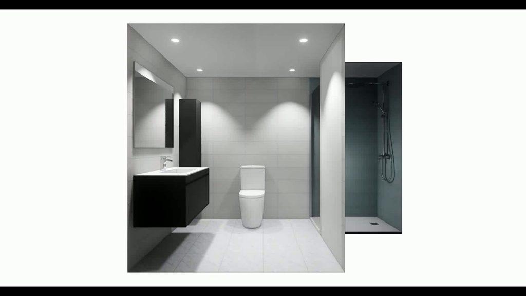Proyecto reforma baños en Torremolinos, video render