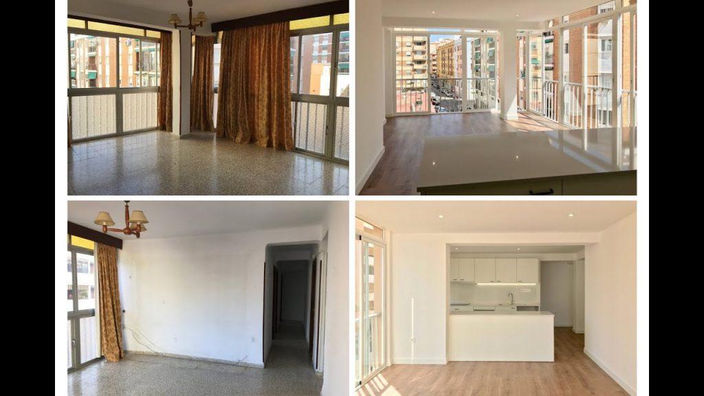 Reforma integral de vivienda en calle Gordon, Málaga. Proyecto llave en mano.