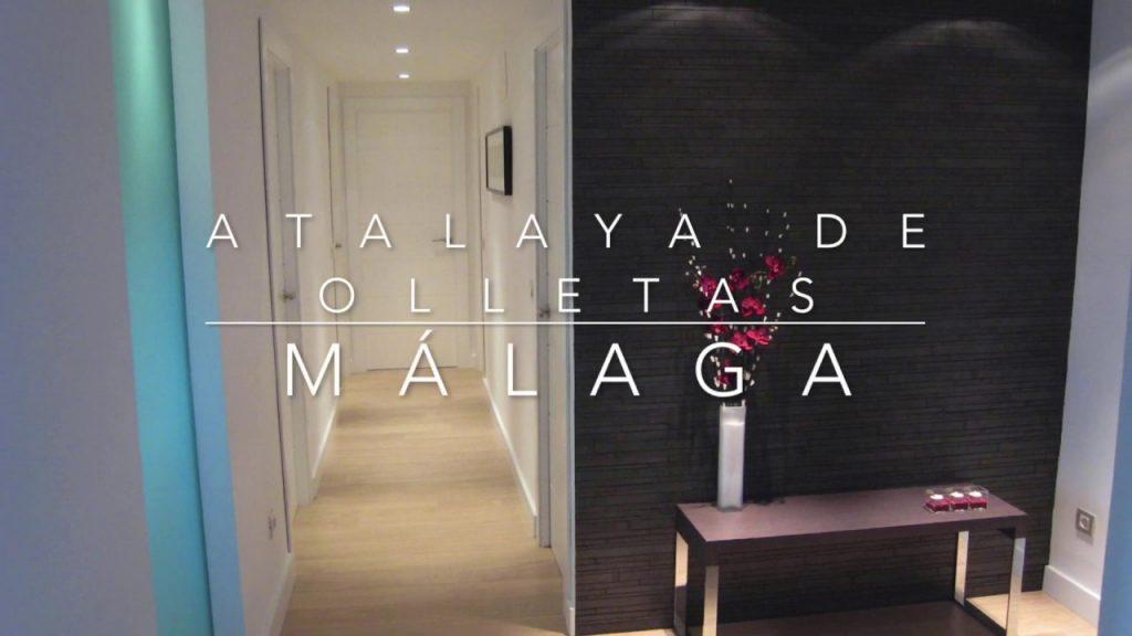 Reforma integral, mobiliario y decoración de vivienda en Málaga