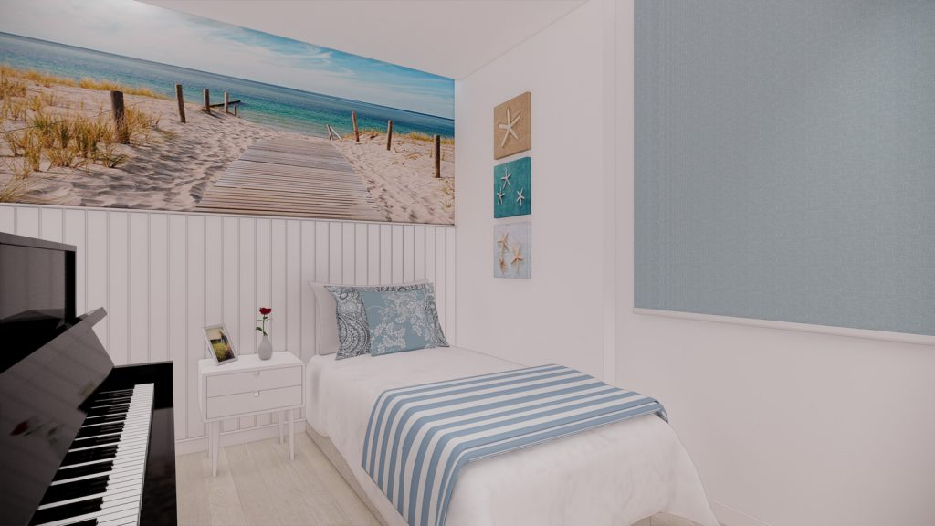 proyecto interiorismo reforma y decoración de vivienda en calle gerona malaga – 13 – dormitorio mediterraneo