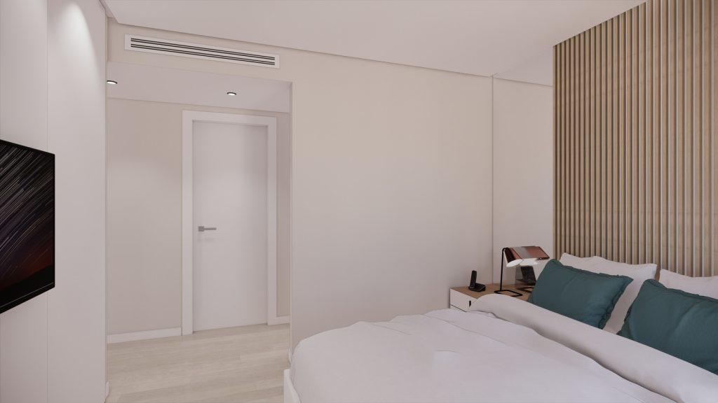proyecto interiorismo reforma y decoración de vivienda en calle gerona malaga – 19 – dormitorio principal suite