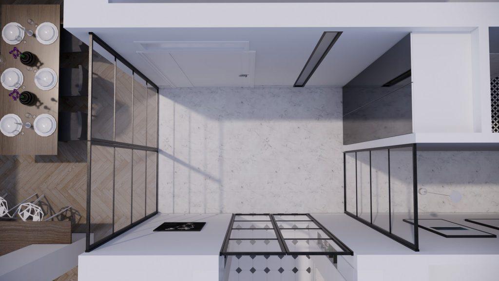 proyecto interiorismo reforma y decoración de vivienda en paseo reding malaga - 1
