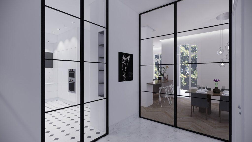 proyecto interiorismo reforma y decoración de vivienda en paseo reding malaga - 2
