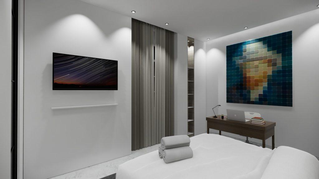 proyecto interiorismo reforma y decoración de vivienda en paseo reding malaga - 25