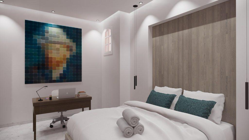 proyecto interiorismo reforma y decoración de vivienda en paseo reding malaga - 27