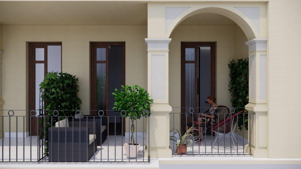 proyecto interiorismo reforma y decoración de vivienda en paseo reding malaga - 32