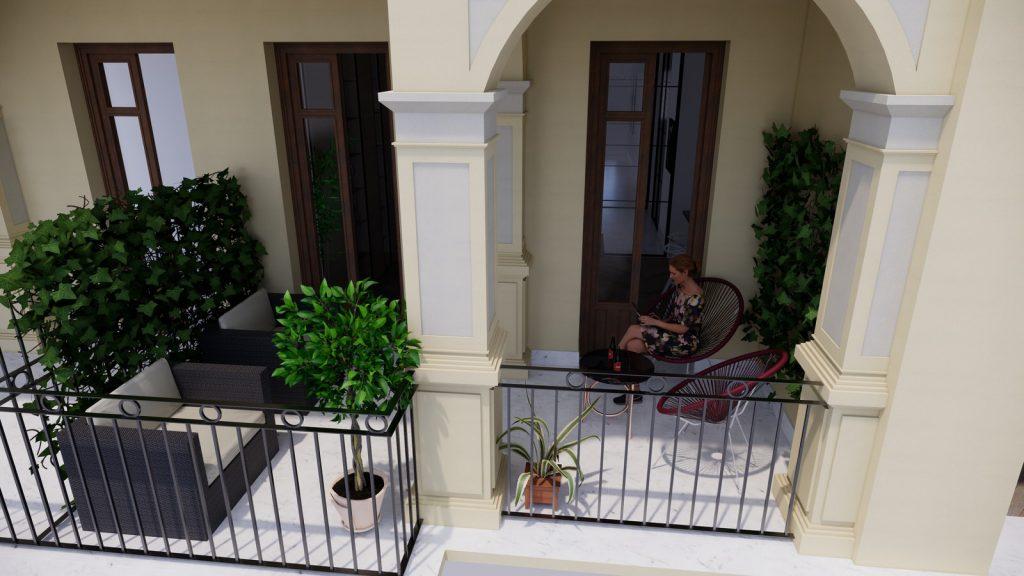 proyecto interiorismo reforma y decoración de vivienda en paseo reding malaga - 33