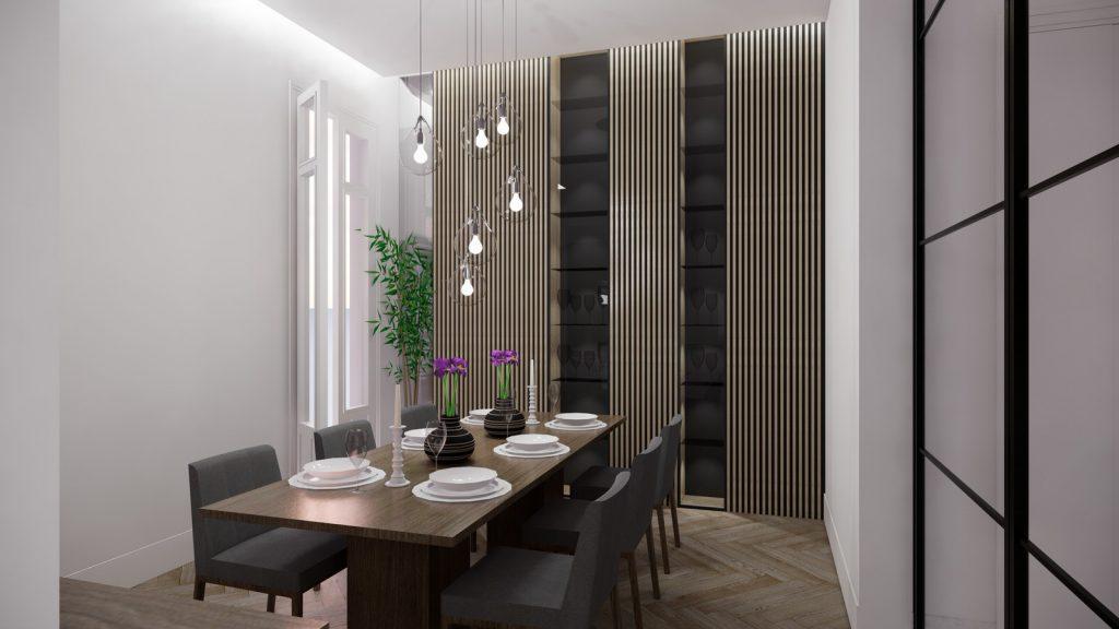 proyecto interiorismo reforma y decoración de vivienda en paseo reding malaga - 4