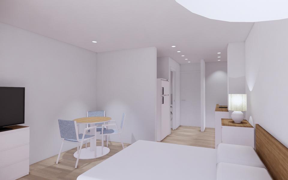 Proyecto de reforma de apartamento en Benalmadena, Malaga