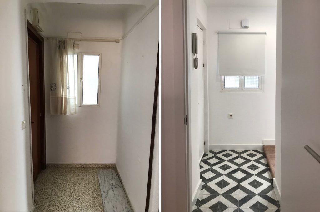 reforma integral vivienda en Malaga – Antes y Después – 1