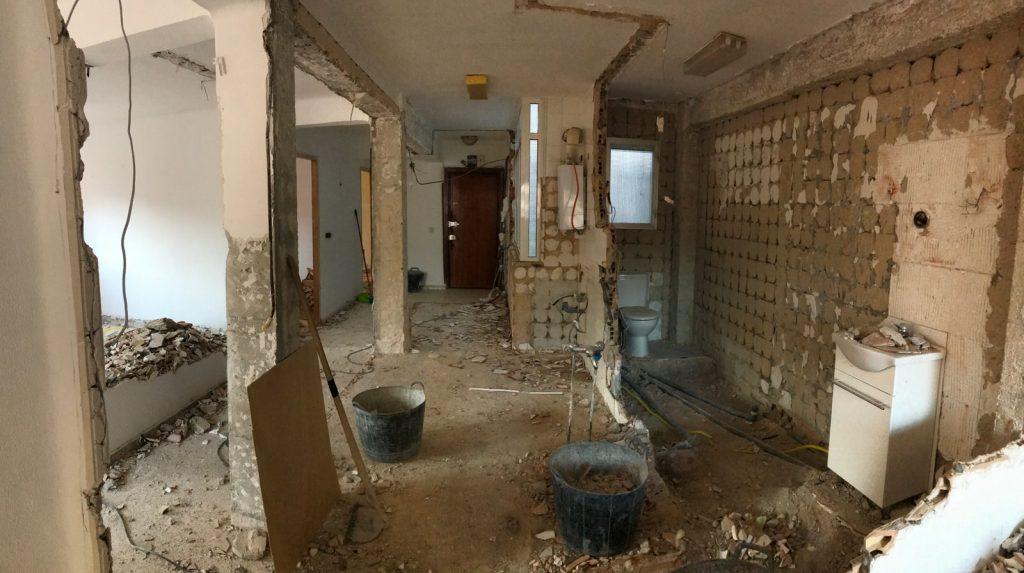reforma integral vivienda en Malaga – Obra – 10