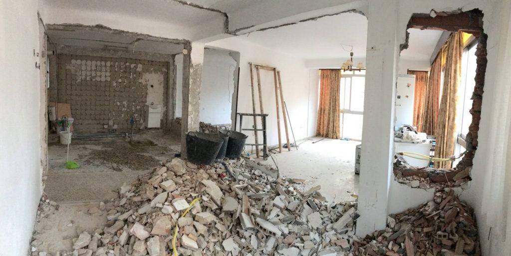 reforma integral vivienda en Malaga – Obra – 11