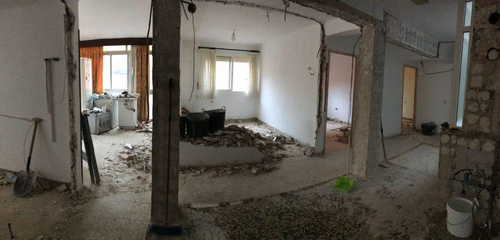 reforma integral vivienda en Malaga – Obra – 12