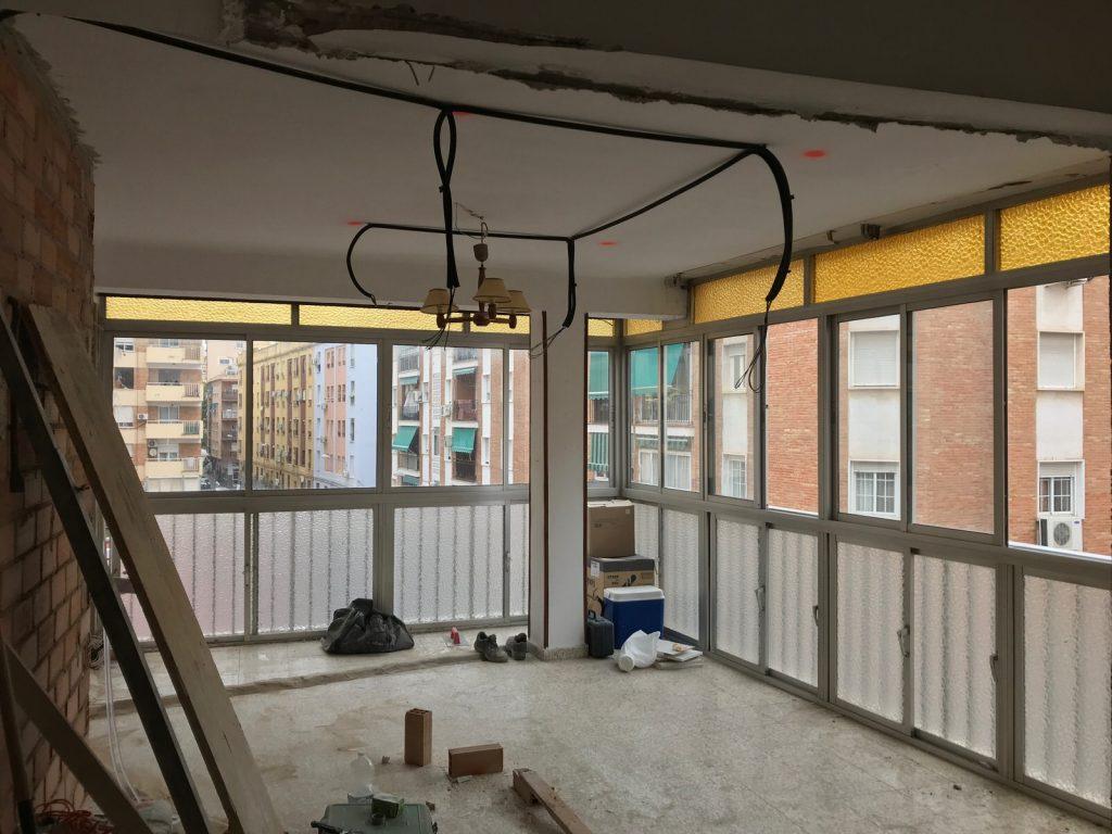 reforma integral vivienda en Malaga – Obra – 19