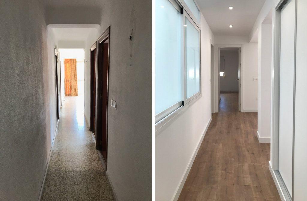 reforma integral vivienda en Malaga – Antes y Después – 2