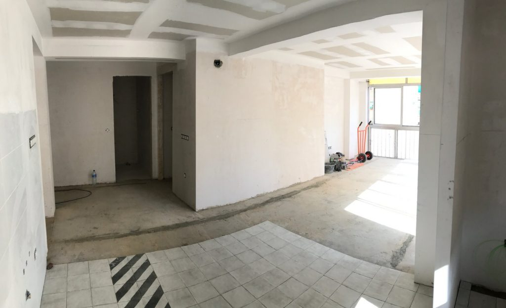 reforma integral vivienda en Malaga – Obra – 27