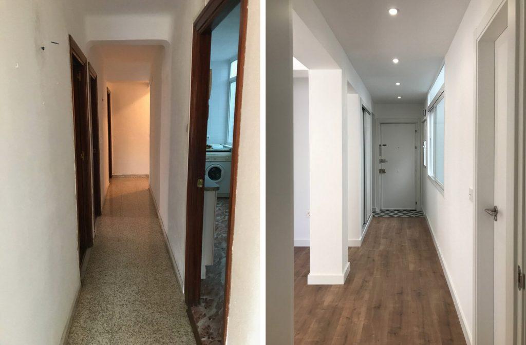 reforma integral vivienda en Malaga – Antes y Después – 3