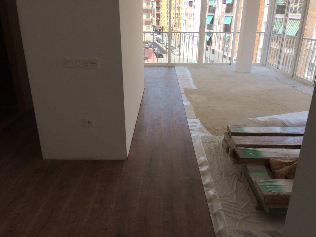 reforma integral vivienda en Malaga – Obra – 34