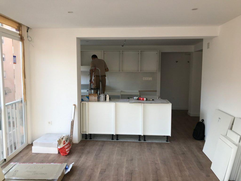 reforma integral vivienda en Malaga – Obra – 35