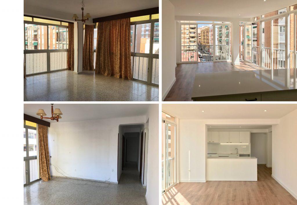 reforma integral vivienda en Malaga – Antes y Después – 7