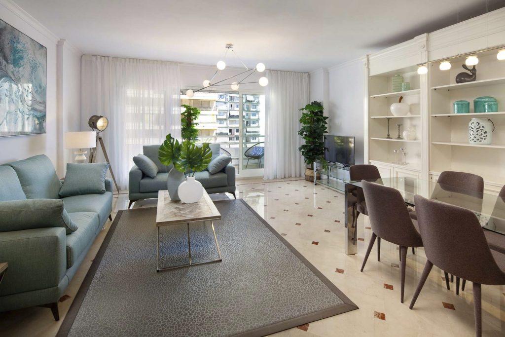 reforma mobiliario y decoracion piso alquiler Marbella Malaga 1