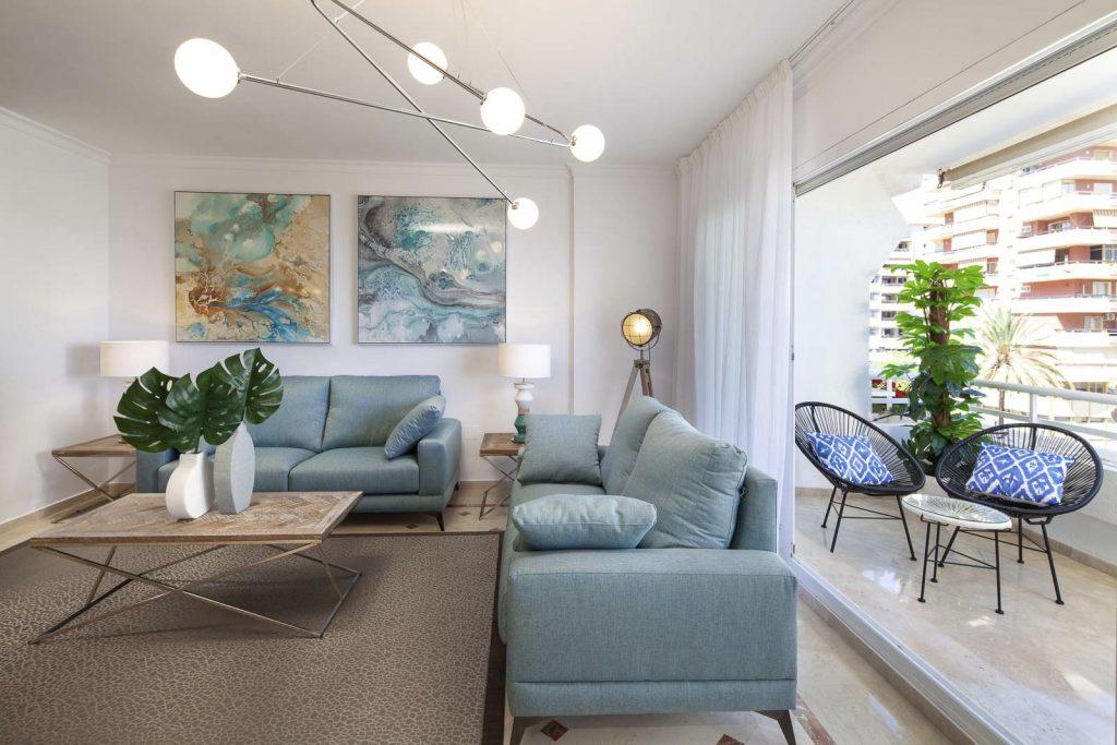 reforma mobiliario y decoracion piso alquiler Marbella Malaga 2