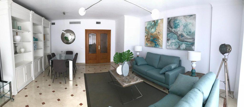 reforma mobiliario y decoracion piso alquiler Marbella Malaga 3
